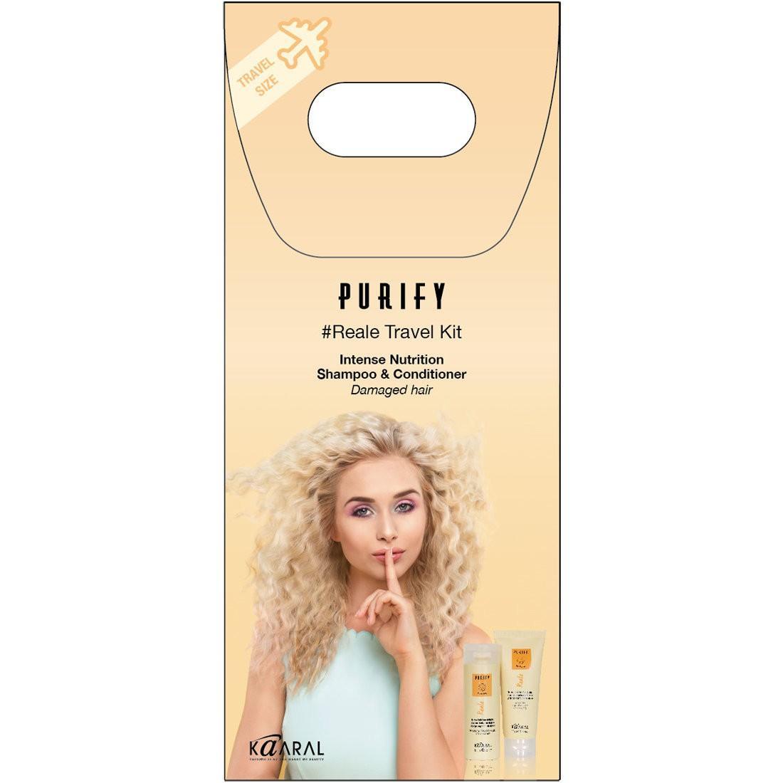 Дорожный набор Kaaral для окрашенных волос Purify Reale