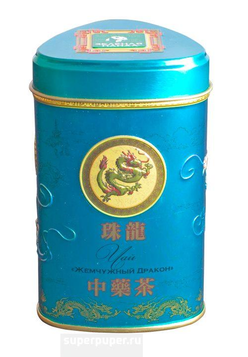 Чай Зеленая Панда Жемчужный Дракон зеленый листовой