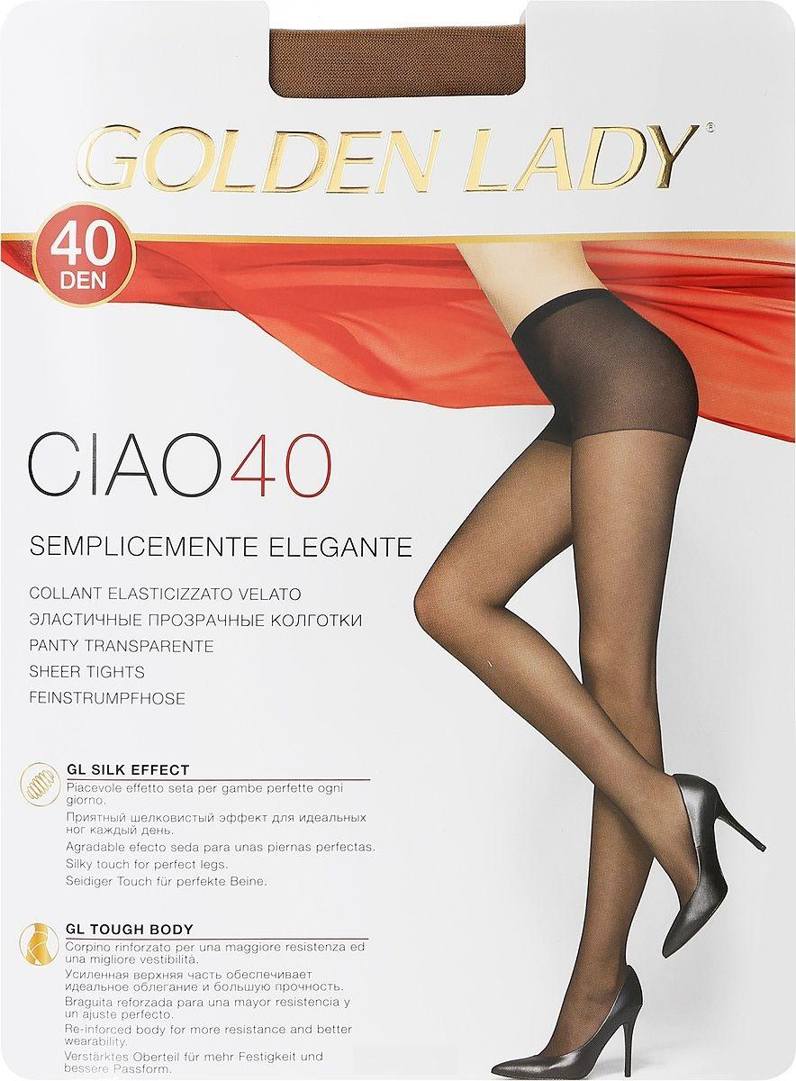 Колготки GOLDEN LADY Ciao 40den melon 4L