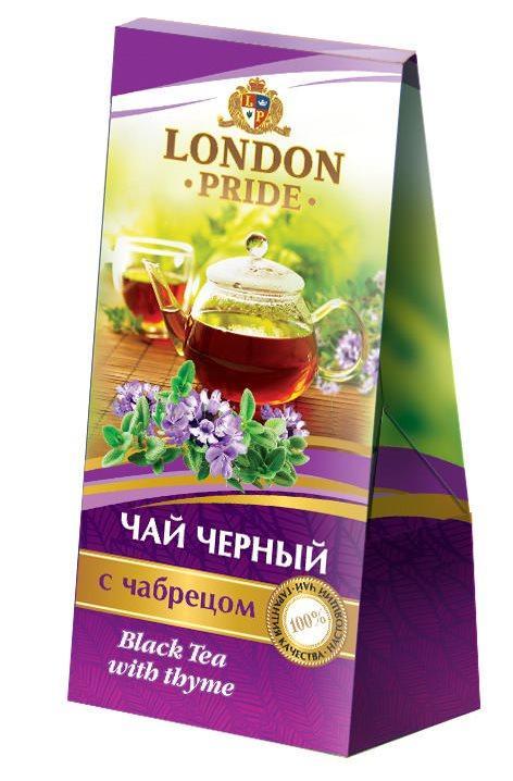 Чай черный London Pride С чабрецом