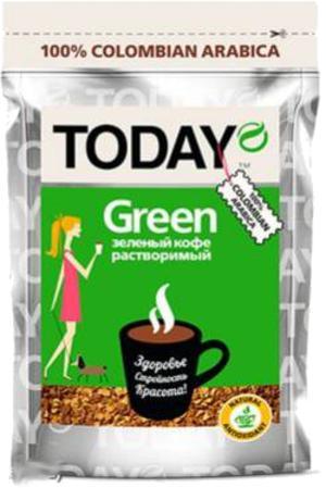 Кофе Today Green сублимированный 75 гр
