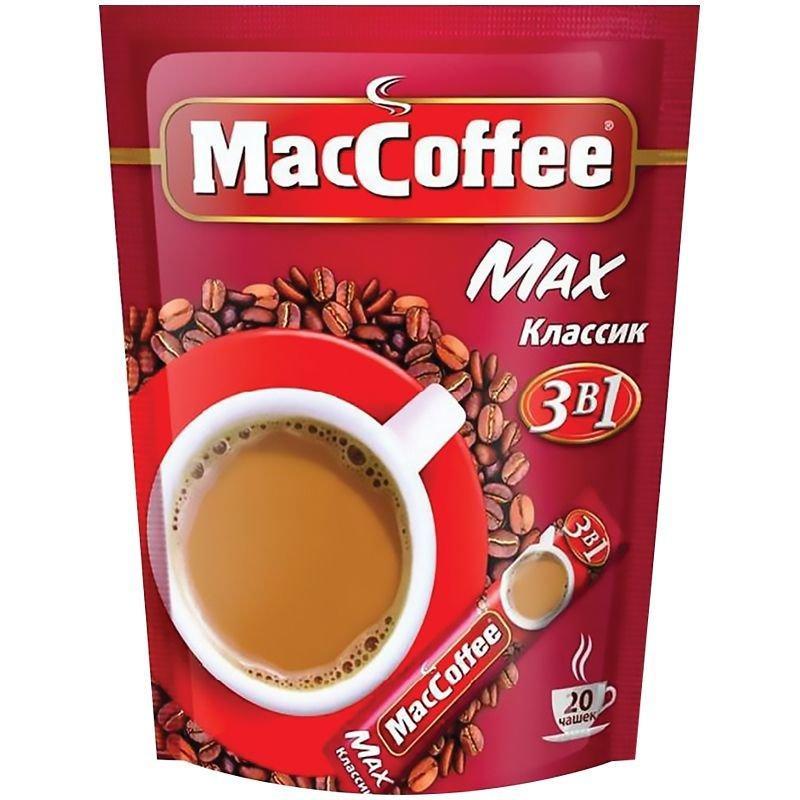 Кофе Maccoffee Классик 3в1 в пакетиках