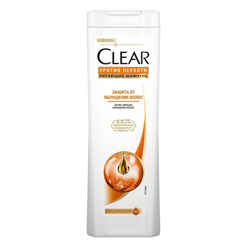 Шампунь против перхоти Clear Защита от выпадения волос