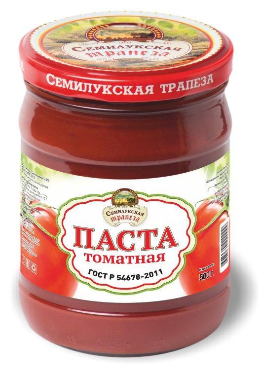 Томатная паста Семилукская трапеза
