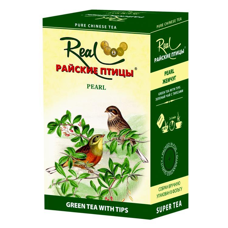 Чай Real Райские птицы зеленый жемчуг