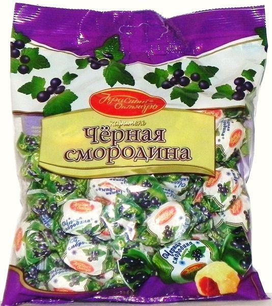 Конфеты Рот Фронт Карамель Черная смородина