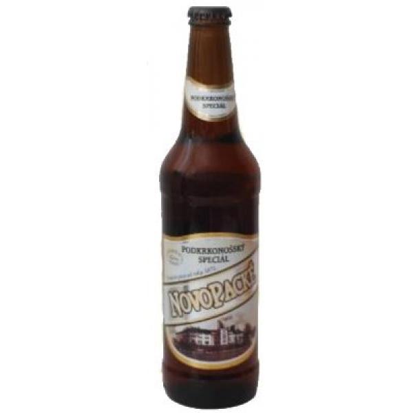 Пиво светлое Novopacke pivo Podkrkonossky Special фильтрованное пастеризованное 6,3% 0.5 л