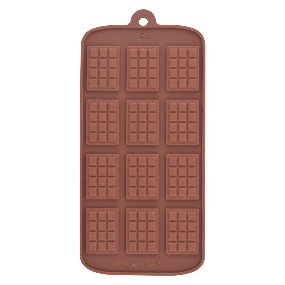 орма для шоколадных конфет Мультидом Плиточки силиконовая