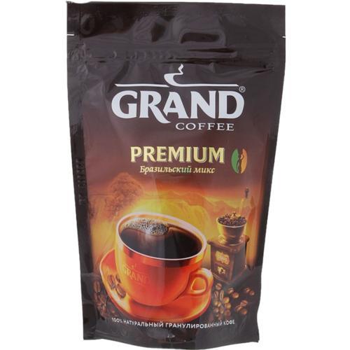 Кофе Grand Premium бразильский микс гранулированный 50 гр