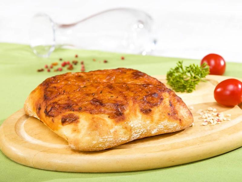 Хлеб Bonape Фокаччо с томатом и сыром