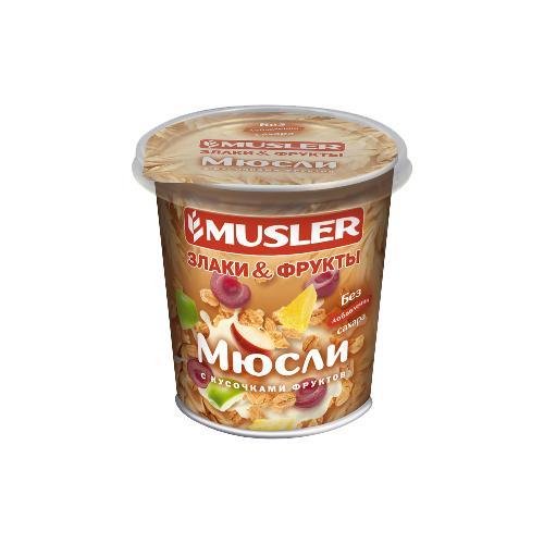 Мюсли Musler с кусочками фруктов