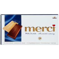 Шоколад молочный Merci Tablets