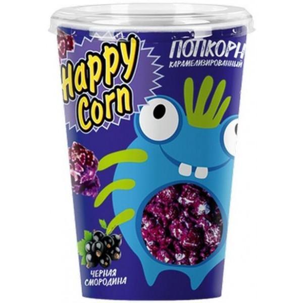 Попкорн Happy Corn Черная смородина