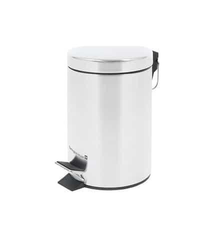 Контейнер для мусора Tarrington House с педалью металлический 5 л.