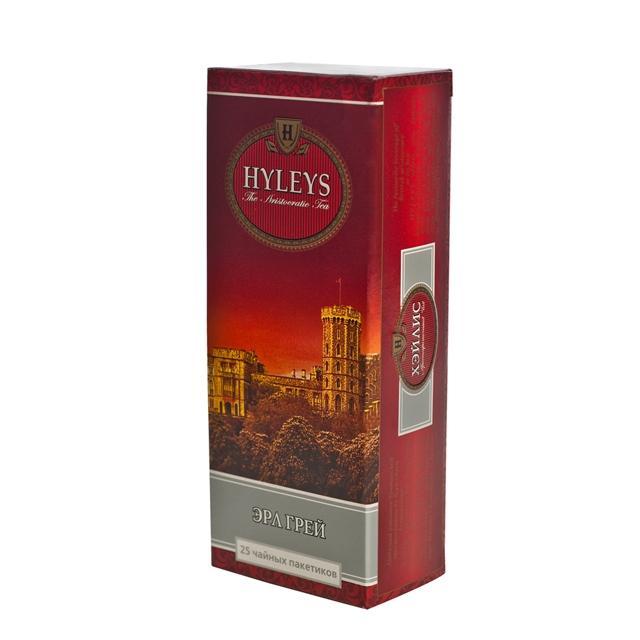 Чай черный Hyleys Эрл Грей 25 пакетов