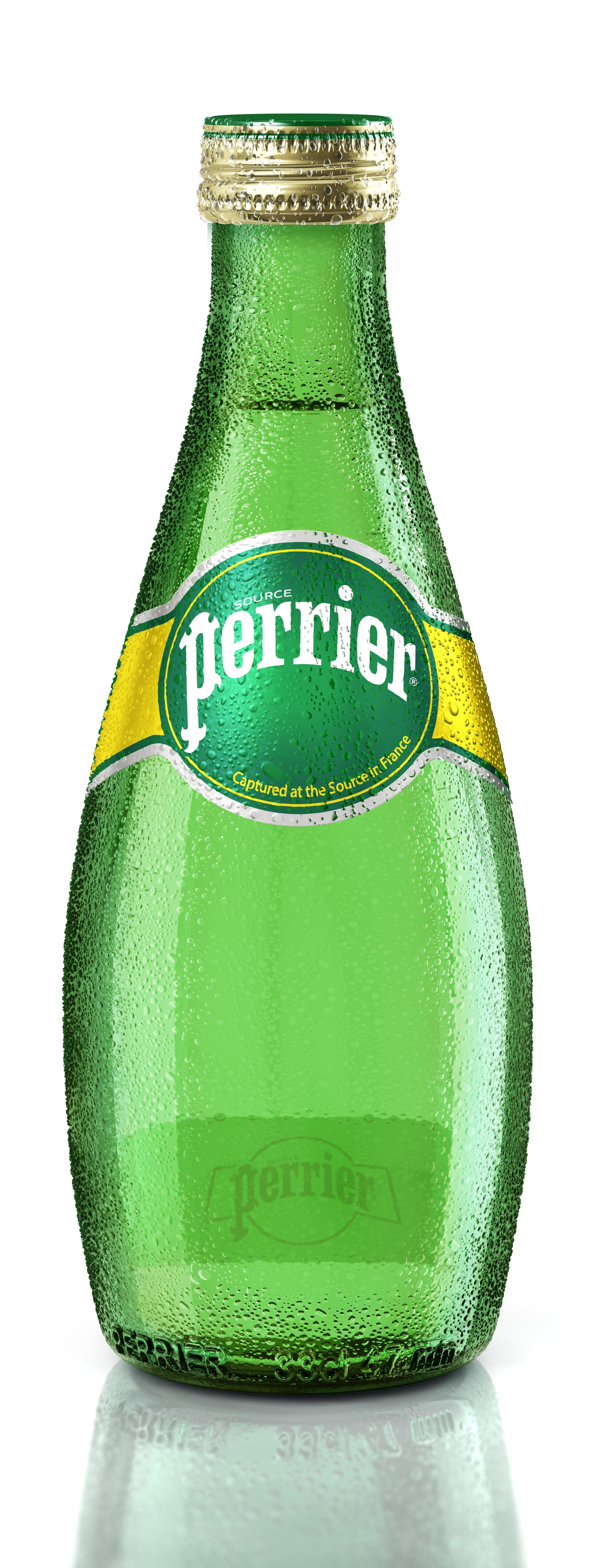 Вода минеральная газированная Perrier 0,33 л.
