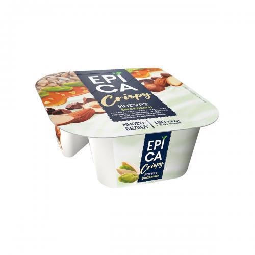 Йогурт Epica Crispy с фисташками 10.5%