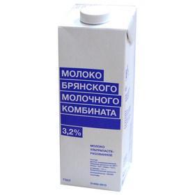 Молоко БМК Ультрапастеризованное 3,2%