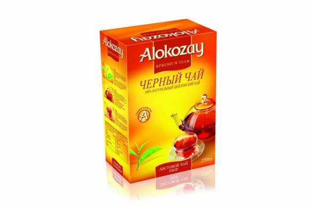 Чай черный Alokozay Листовой FBOP