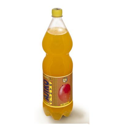 Пивной напиток со вкусом Манго 6,9% Алко 1.5 л., Пластиковая бутылка