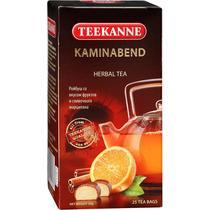 Чай травяной Teekanne Kaminabend Ройбуш со вкусом фруктов и сливочного марципана 25 пакетов