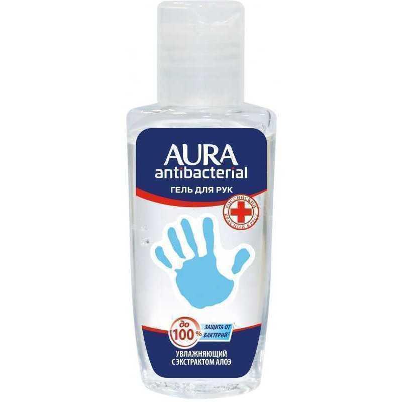 Гель для рук Aura Алоэ с антисептическим эффектом
