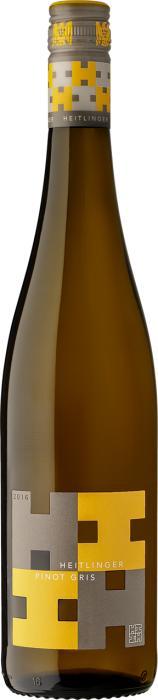 Вино Вайнгут Хайтлингер Пино Гри / Weingut Heitlinger Pinot Gris,  Пино Гриджио,  Белое Сухое, Германия