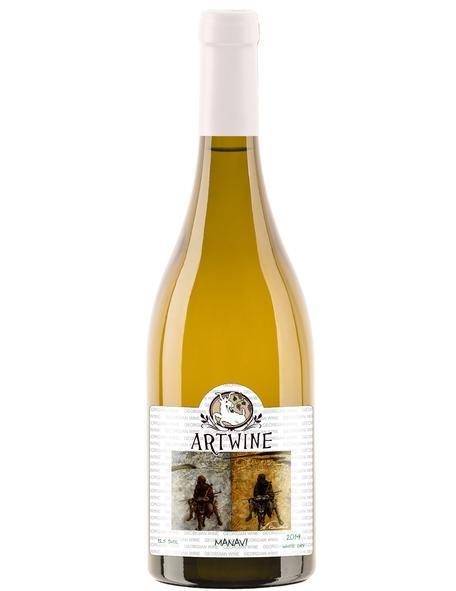 Вино Manavi Кахетия белое сухое 11-13%