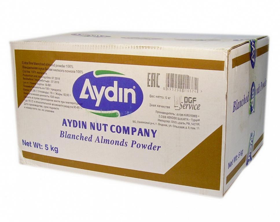 Мука Aydin миндальная для макарун белая мелкого помола