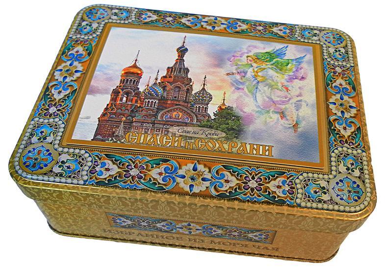 Чай Избранное из моря чая Храмы России Спас на крови