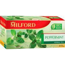 Чай Milford зеленый с мятой в пакетиках