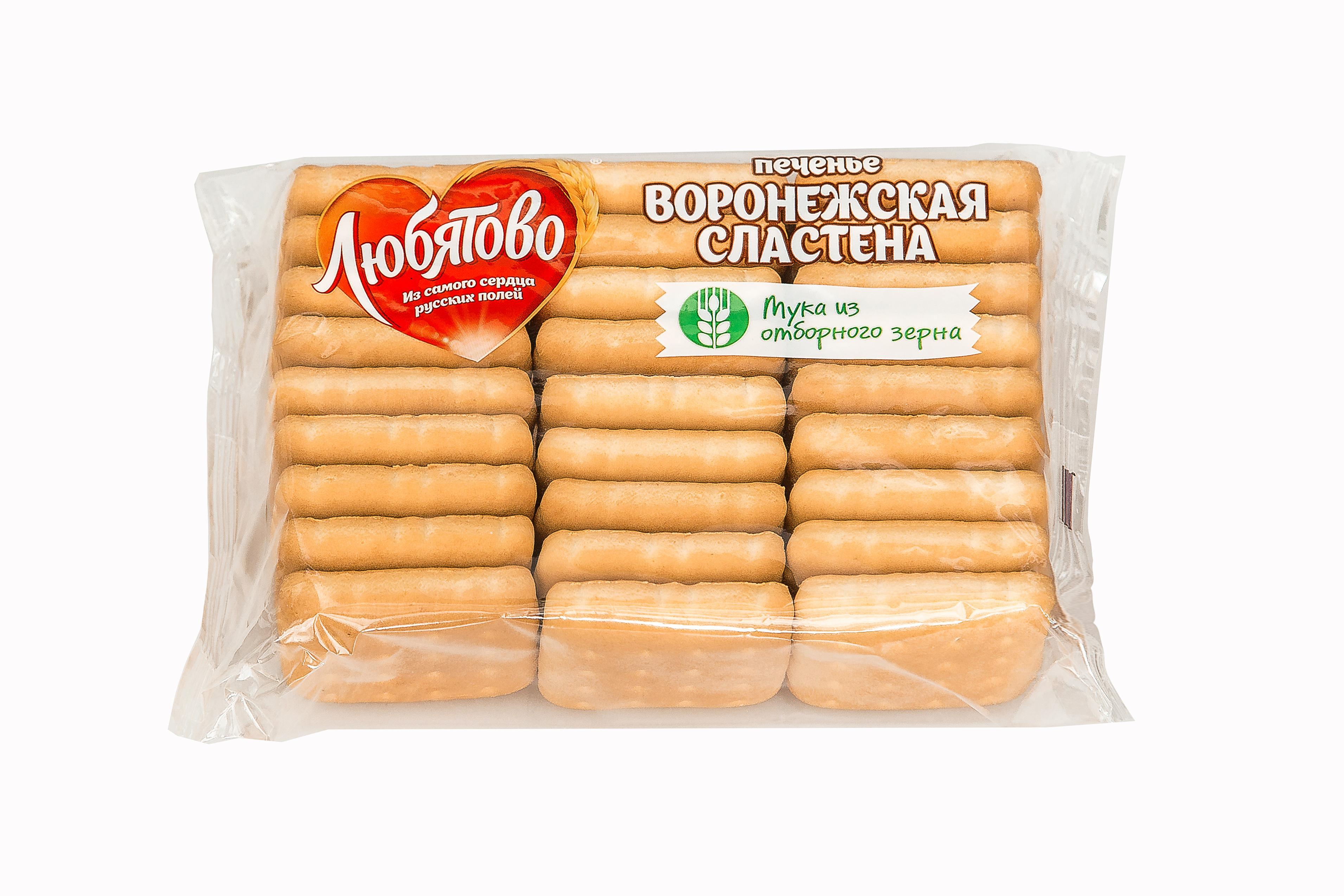 Печенье Любятово Воронежская Сластена