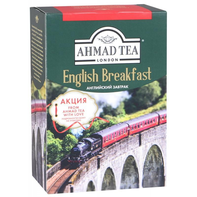Чай Ahmad Tea English Breakfast черный листовой