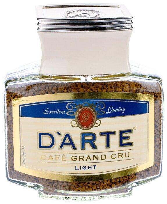 Кофе D'Arte Light натуральный растворимый сублимированный
