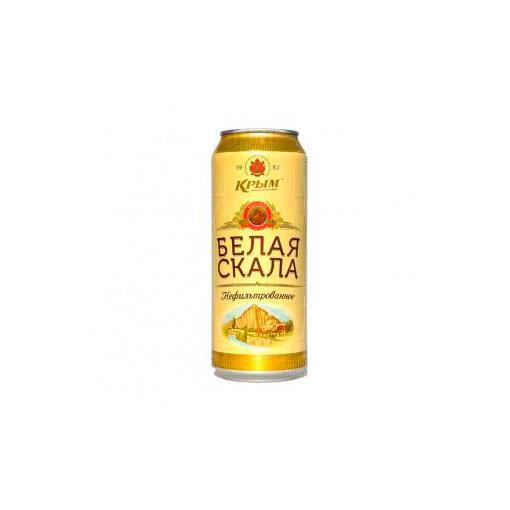 Пиво Крым Белая скала, премиальное, 5%