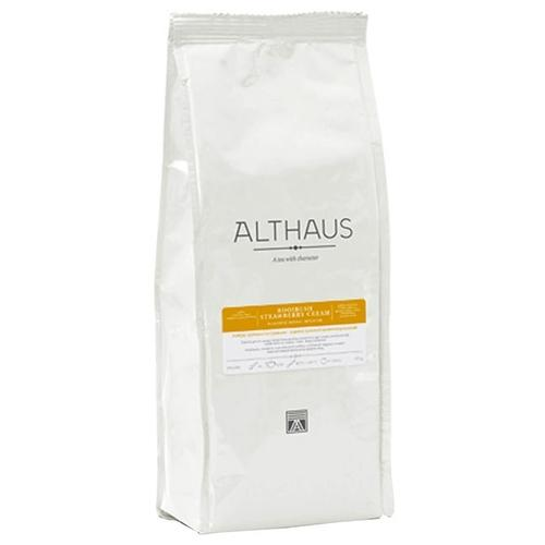 Чай травяной листовой Althaus Rooibush Strawberry Cream