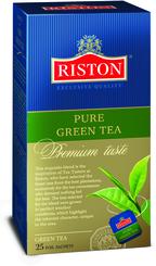 Чай зеленый Riston 25 пакетов