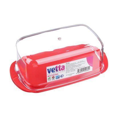 Масленка Vetta, пластик, 171х90х66мм, 3 цвета