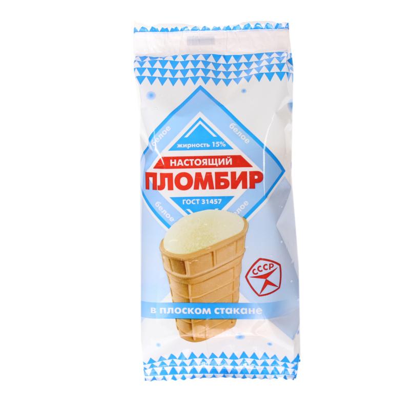 Мороженое Настоящий пломбир Пломбир