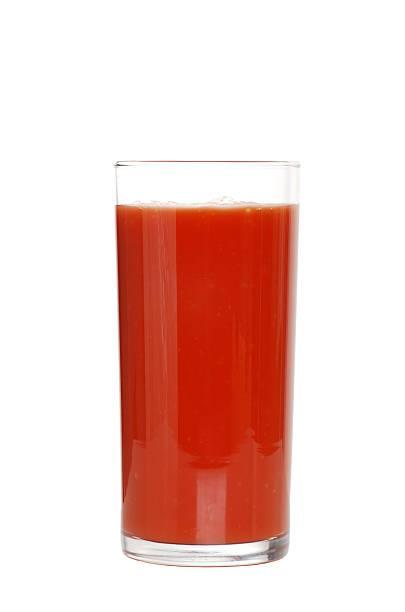 Сок Между Первой и Второй Из томатов и острого перца