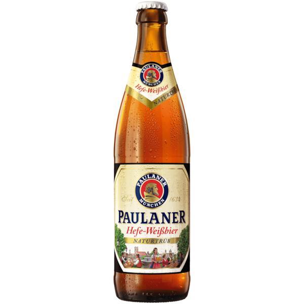 Пиво Paulaner Hefe-Weissbier Naturtrub безалкогольное