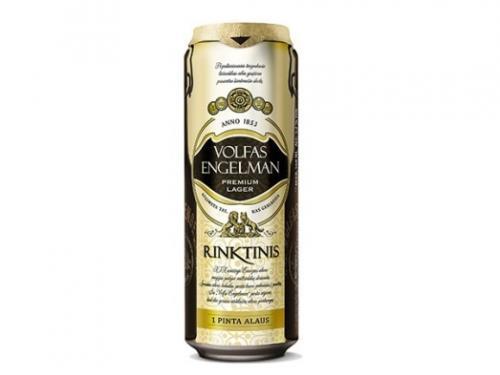 Пиво Volfas Engelman Rinktinis 5,2%