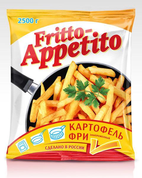 Картофель-фри Fritto-Appetito 8х8, Россия