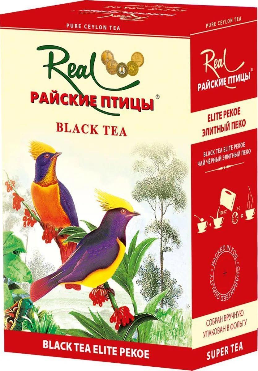 Чай черный Real Райские птицы Листовой Pekoe
