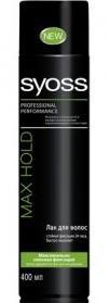 Лак для волос SYOSS Max Hold 400мл