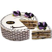 Торт У Палыча с черносливом оригинальный песочный 1450 гр.