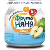 Пюре ФрутоНяня Из яблок для детей с 4-х месяцев 6шт.