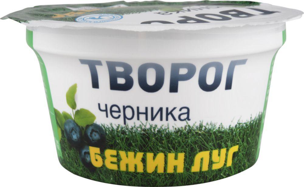 Творог Бежин луг Черника Мягкий 4,2%