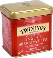 Чай черный листовой Twinings English Breakfast