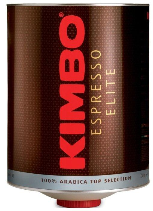Кофе Kimbo Elite Espresso 100% Arabica top selection в зернах